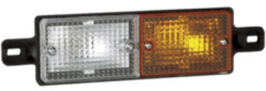 Amber/Clear Front Direction Lamp