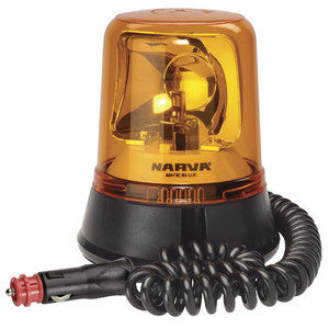 12 - 24 Volt Amber Magnetic Beacon