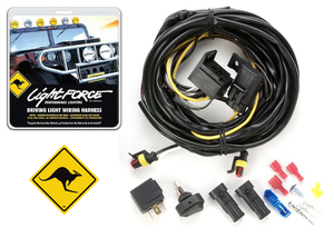 12V Driving Light Wiring Harness