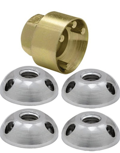 5PC Anti Theft Nut Kit