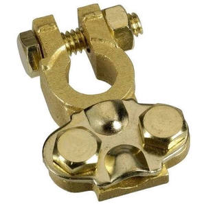 Negative Heavy Duty Brass Battery Terminal