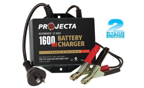 12v 2.5 Amp Battery Charger
