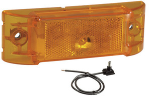 24v Amber Sealed Lamp - Model 21