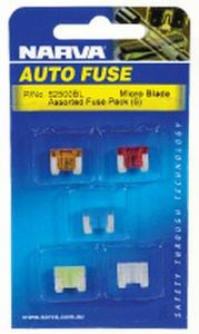 (5) Micro Assorted Fuses