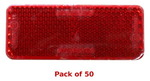 (50) Red ADH Reflector
